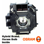 <b>Hybrid Brand</b> EPSON POWERLITE 822 replacement lamp - 180 Day Warranty